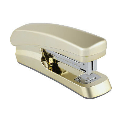 Gold Look Stapler On Trend Metalic Luxe Business Office Stationery Classy Home