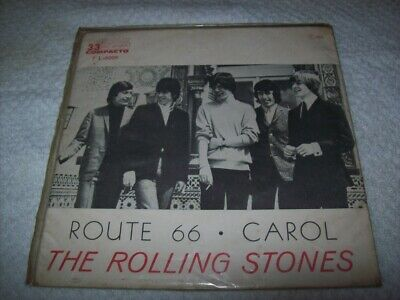 "7"" Single 45 P/S - THE ROLLING STONES - ROUTE 66 / CAROL - 1964 - Brazil"