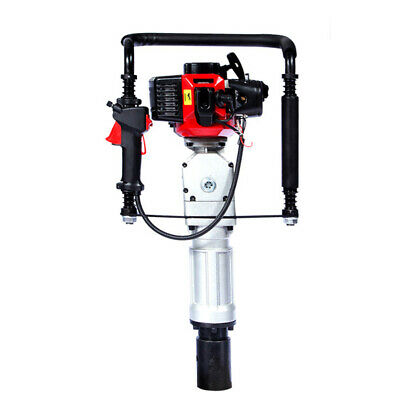 2Stroke 52CC T-Post Pile Driver Fencing Garden Tool Air-cooling Gasoline Powered
