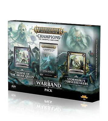 Warhammer Age of Sigmar Champions Warband Collectors Pack  - BRAND NEW