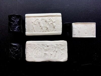 Ancient Gilgamesh Cylinder Seal Set Recreations