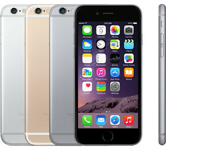 Apple iPhone 6 16GB 32GB 64GB O2 Unlocked Vodafone EE Grade A B C Cheap