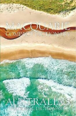 NEW Macquarie Compact Dictionary By Macquarie Dictionary Hardcover Free Shipping