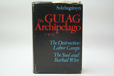 The Gulag Archipelago 1918-1956 Vol 2 Alexander Solzhenitsyn 1st Edition Used