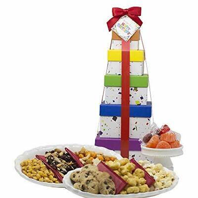 Birthday Gift Basket Box Tower 16