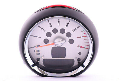 *BMW MINI Cooper R56 R57 R59 Tachometer Gauge Revolution Counter Chrome 9275564