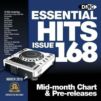 DMC Essential Hits 168 DJ CD Radio Edit Chart Music Disc ft Ava Max - So Am I