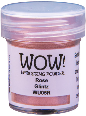 OPAQUE PRIMARY EMBOSSING POWDER WOW free UK p/&p on extra pots 5 COLOURS