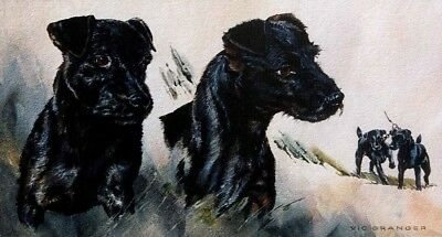 """Limited edition print of Patterdales """"A Likely Couple"""" by the late Vic Granger"""