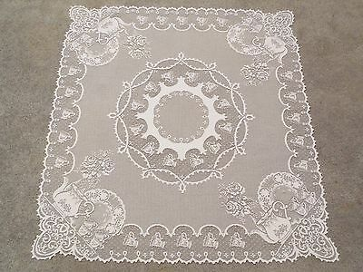 Table Runners Linens & Textiles HERITAGE LACE IVORY NATIVITY SCENE 15X51 TABLE RUNNER ITEM 4174