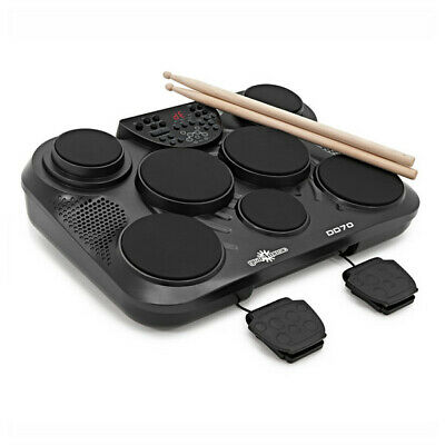DD70 Portable Electronic Drum Pads by Gear4music - B-Stock
