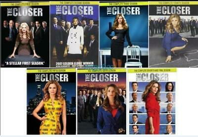 THE CLOSER Complete Series Collection  DVD SET Seasons 1-7