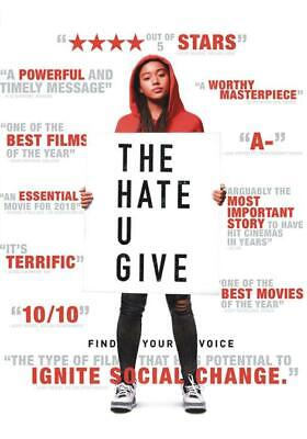 *The Hate U Give* (2019,New Dvd)    Free Shipping...