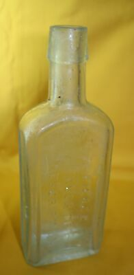 Buffalo N. Y. Antique Med. Bottle Dr. Pierce's Favorite Prescription Embossed