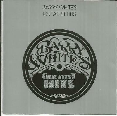 BARRY WHITE - Barry White´s greatest Hits    -CD-