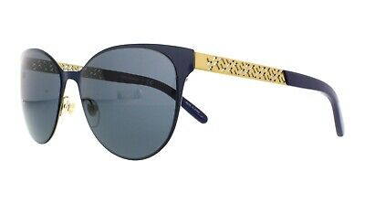 8cd12dad72a7 TORY BURCH TY 6046 305887 Sunglasses Navy Blue   Gold ~ 55mm