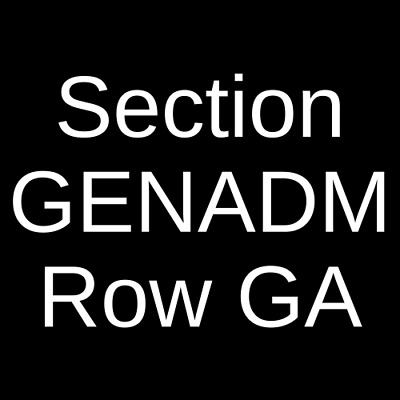 3 Tickets Killswitch Engage & Parkway Drive 4/27/19 Austin, TX