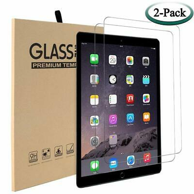 For Apple iPad Screen Protector 2 PACK Air 1 iPad Air 2 iPad 9.7 Tempered Glass