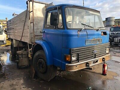 Ford D Series 1614 Tipper Truck Classic Restoration Project