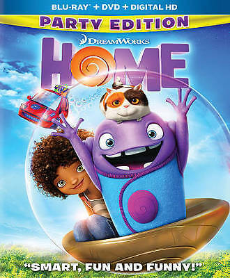 Home (Blu-ray/DVD, 2015, 2-Disc Set, Party Edition)