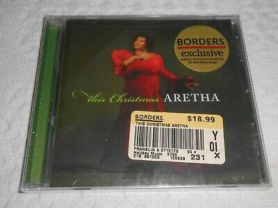 Cd- Aretha Franklin, This Christmas Aretha / New / Sealed