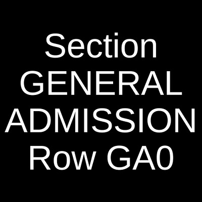 2 Tickets Rufus Du Sol 8/8/19 The Anthem - D.C. Washington, DC