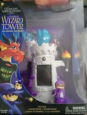 Mighty Wizard Wand - Wizard Tower - Gray
