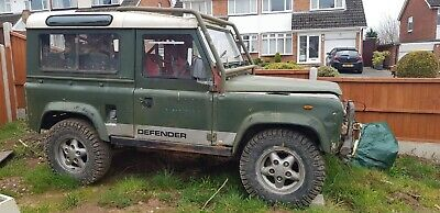 Land Rover Defender 90 300Tdi 1987 Off Road Project