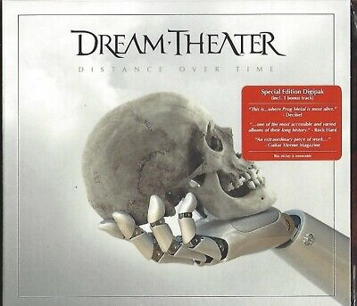 Dream Theater / Distance Over Time - Limited Digipak Edition * New Cd 2019 * Neu