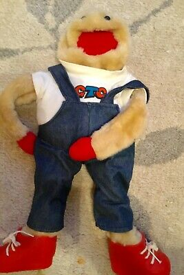 "Fab 18"" Vintage Gordon The Gopher Glove Puppet in Lovely Clean Condition"