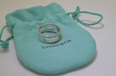 544de37fa TIFFANY & CO. Out Of Retirement I.D. Ring Sterling Silver Size 9 ...