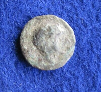 SCARCE Ancient Iberian semis of Castulo 2nd to 1st cent.bc