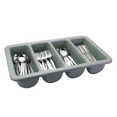 Commercial Catering Cutlery Tray Holder Tidy Organiser Cafe Restaurant Kitchen