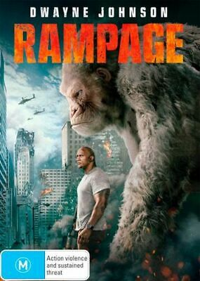 NEW Rampage (2017) DVD Free Shipping