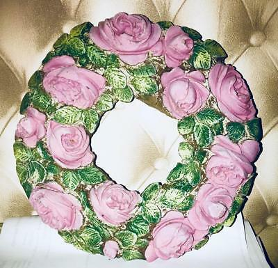 Latex Mould for making this Beautiful larger flower plaque