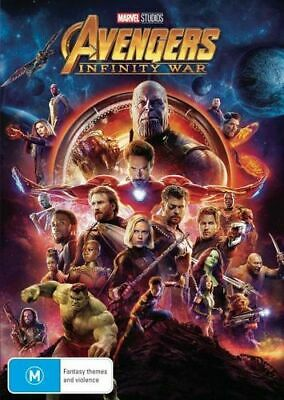 NEW Avengers Infinity War DVD Free Shipping