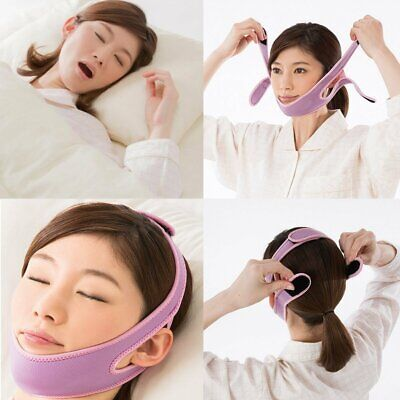 Adjustable Anti Snoring Chin Strap for Women Men Effective Stop Snoring Devices