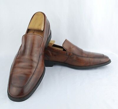 c1ad014732b Cole Haan NikeAir Men s Brown Leather Slip-On Loafers  Dress Shoes Size ...