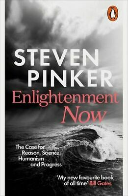 NEW Enlightenment Now By Steven Pinker Paperback Free Shipping