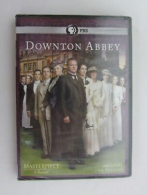Downton Abbey Season 1 DVD 2011 3 Disc Set Original UK Ed. Brand New Sealed