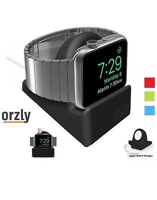 Orzly Compact Stand for Apple Watch RRP £17.99 Holder Cradle Night Stand