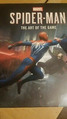 Spider-Man: Into the Spider-Verse - The Art of the Game - NEW Marvel Harcover