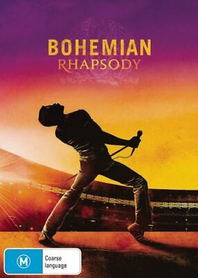 NEW Bohemian Rhapsody DVD Free Shipping