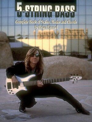 5-String Bass : Complete Book of Scales, Modes and Chords, Paperback by Emmel...