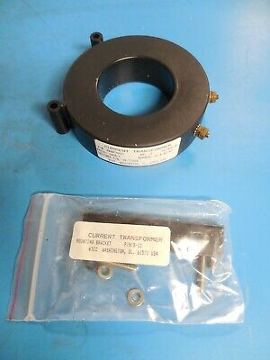 Wicc 04-77054 MWAA1000/1 Ratio:1000/1 KV: .6 Current Transformer with Bracket