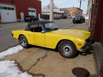 1974 Triumph TR-6  1974 Triumph TR6, Running and Driving project
