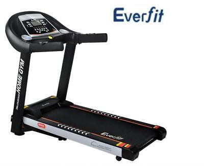 Everfit Electric Treadmill Auto Incline Home Gym Exercise Machine Fitness