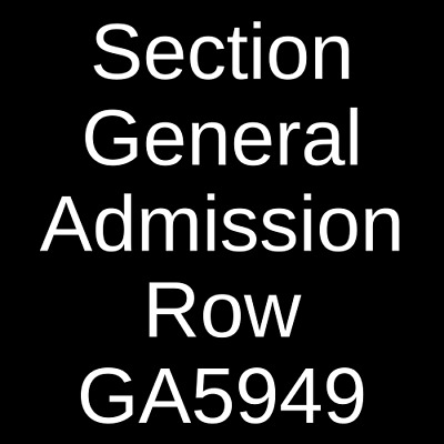 2 Tickets Massive Attack 9/24/19 The Anthem - D.C. Washington, DC