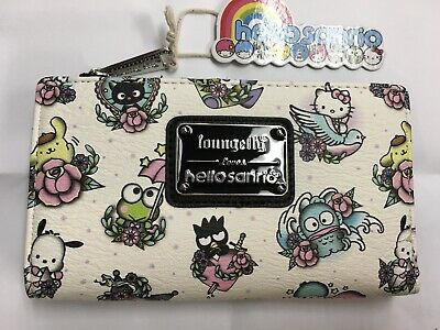 aa45ce48e LOUNGEFLY SANRIO HELLO Kitty And Friends Wallet With Zip Coin ...