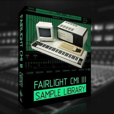 FAIRLIGHT CMI III Sample Library - 2,200 High Quality Samples